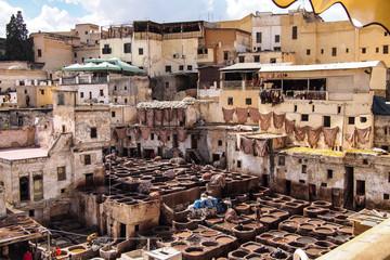 Keuken foto achterwand Marokko Marokko - Gerberei in Fes