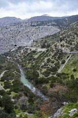 Fototapete - Desfiladero de los Gaitanes, Valle del Hoyo