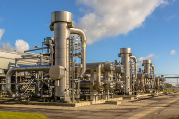 Dutch Natural gas processing site