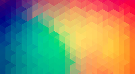 Abstract gradient art geometric background.