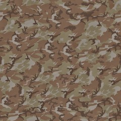 Camouflage Perfectly Seamless Texture