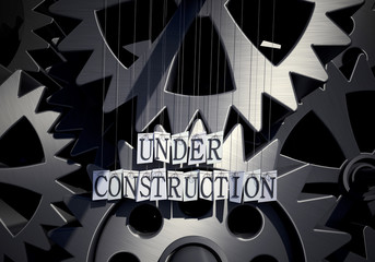 Under construction, industrial