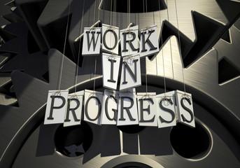Work in progress mechanism