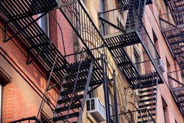 Building facade at NYC, New York