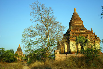 Stupas in Bagan