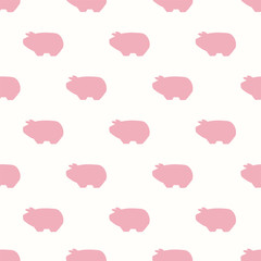 seamless piggy pattern
