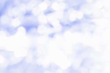 Abstract blue Bokeh circles.