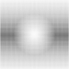 square shaped dots halftone background