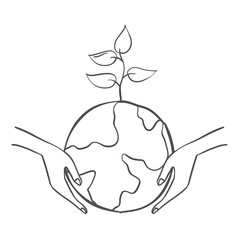 Save world with tree doodles