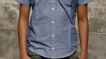 Casual Shirt Teen Boy