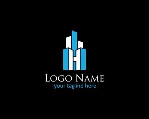 initials H, Font CONSTRUCTION