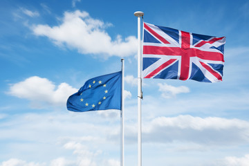 brexit angleterre europe union européenne sortie royaume uni grande bretagne drapeau politique référendum
