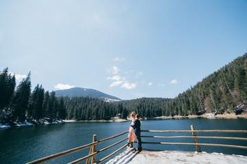 Beautiful love story on the lake