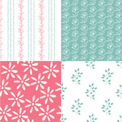 Scandinavian design patterns. Nature background.