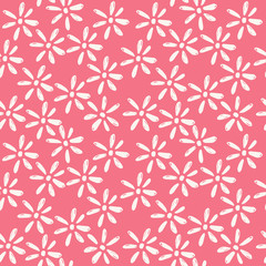 Ornate hand drawn background. Scandinavian pattern. Vector.