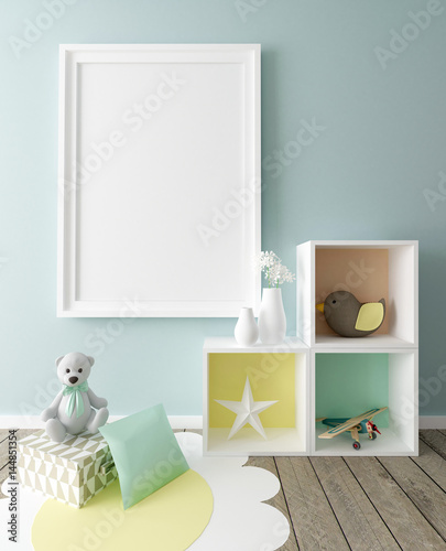 home decorators collection registration quot poster mockup in children room interior quot stock photo and 11466
