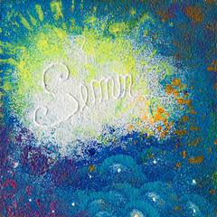 mixing colours artwork