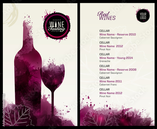Invitation template for event or party. Suitable for tasting events ...