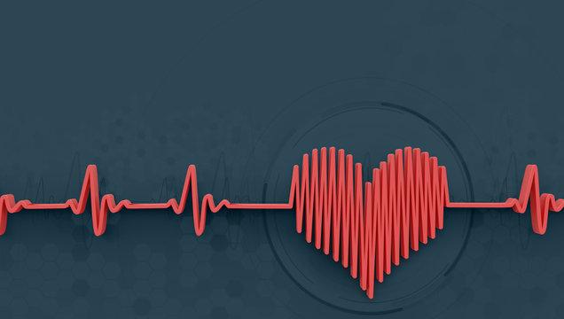 heartbeat concept