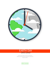 Recycling, non-waste production, environmentally friendly, care of the planet, flat design. Earth day.