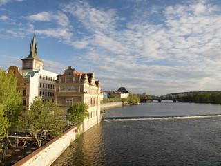 In Prag an der Moldau