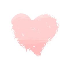 Watercolor Heart Icon