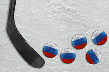 Hockey stick and Russian washers