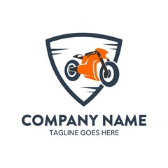 Unique Motorcycle Logo