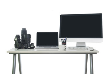 Photographers workspace