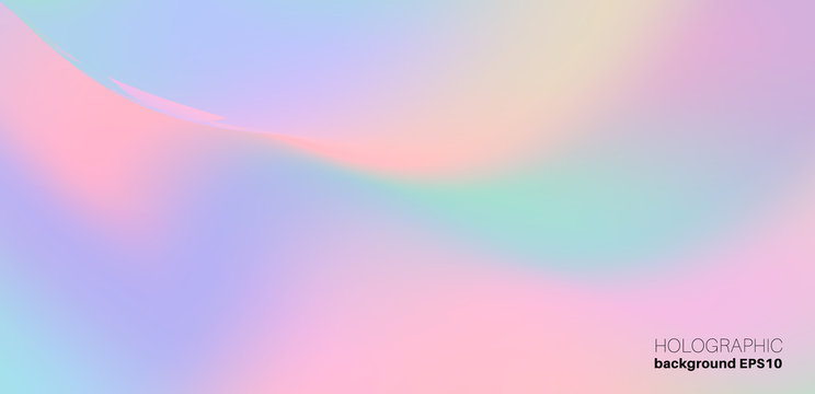 Holographic Trendy Background