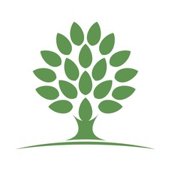 tree logo vector.