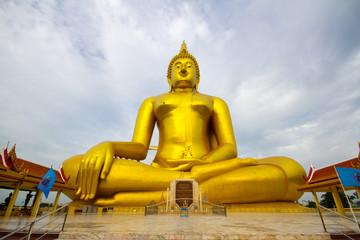 Wat Muang Tempie in Ang Thong Province Thailand