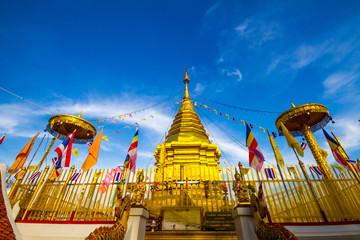 Doi Kham Temple in Chiang Mai Province Northern Thailand. A Famous temple in Chiang Mai.