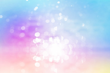 glitter sweet color, de focus soft blur bokeh, color filter abstract background