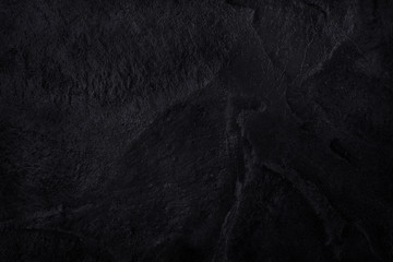 Dark gray black slate natural pattern for background and design.