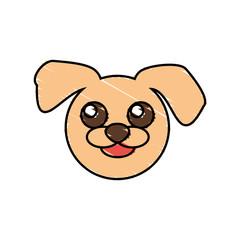 cute dog drawing animal vector illustration eps 10