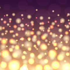 Creative bokeh universal texture abstract colorful blur background ornament vector illustration.