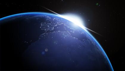blue nighth earth