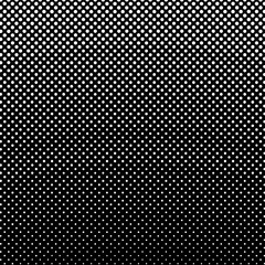 Black and White Pop Art Background, Gradient from the Top Down, Retro Style, Vector Illustration