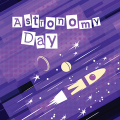 Astronomy day Greeting card