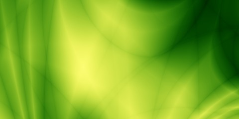 Wide green leaf abstract wallpaper simple pattern