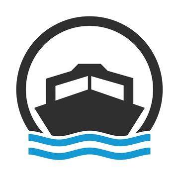 Symbol für Motorboot