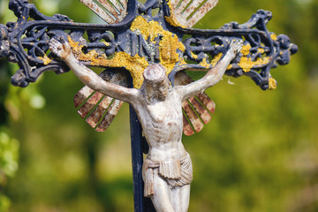 INRI nature, crucifixion Jesus
