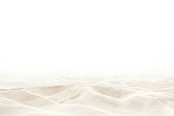 Close up Sand isolated, Soft sand background. Summer background. Wall mural