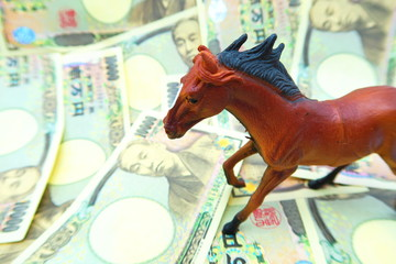 競馬とお金のイメージ