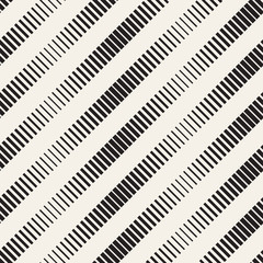 Line halftone gradient. Modern background design. Stylish geometric lattice.  Vector seamless pattern