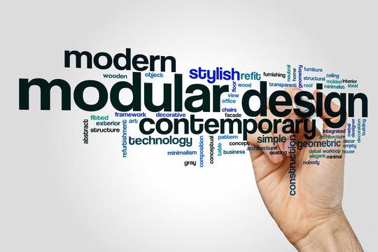 Modular design word cloud