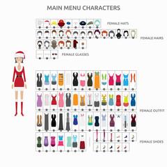 Character Creation Christmaslady