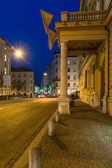 Night historical center city Brno Czech republic