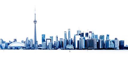 Wall Murals Toronto Toronto Skyline Überbelichtung